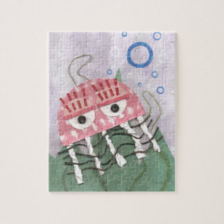 Jellyfish Comb Jigsaw Jigsaw Puzzle