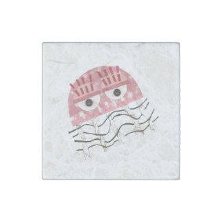 Jellyfish Comb Marble Magnet