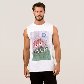 Jellyfish Comb Men's Vest Top