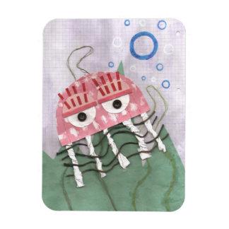 Jellyfish Comb Photo Magnet