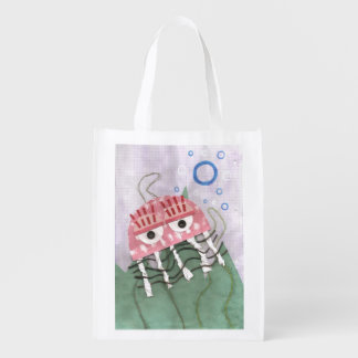 Jellyfish Comb Reusable Bag