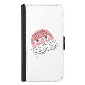 Jellyfish Comb Samsung Galaxy S5 Wallet Case