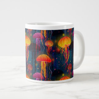 Jellyfish Dance Large Coffee Mug