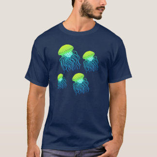 Jellyfish Floating Jellies tee