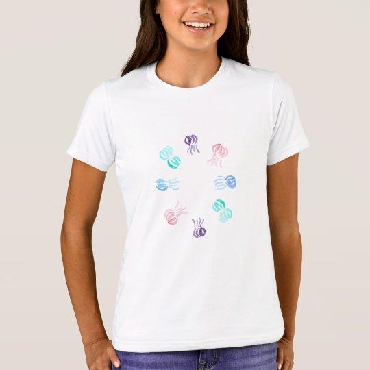 Jellyfish Girls' Crew T-Shirt