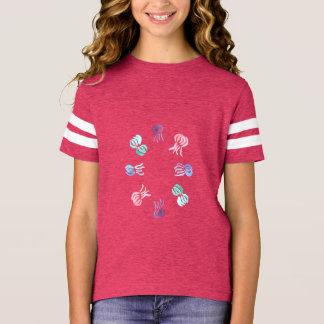 Jellyfish Girls' Football T-Shirt