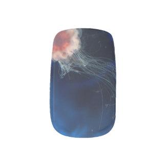 Jellyfish in Space Minx Nail Art
