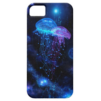 Jellyfish iPhone 5 case (color)