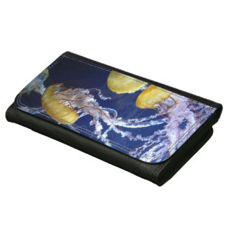 Jellyfish Leather Wallet