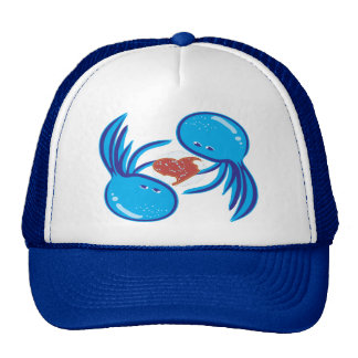 jellyfish love bubble share hat
