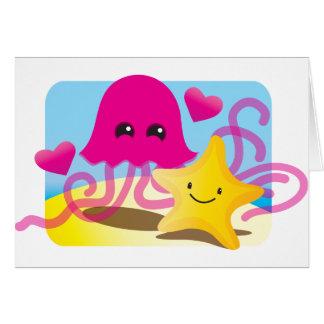 Jellyfish Love Card