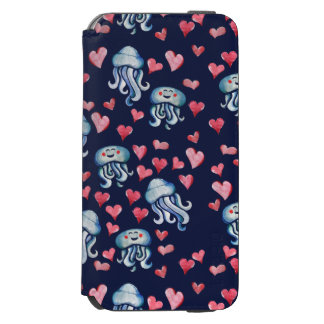 Jellyfish Love Incipio Watson™ iPhone 6 Wallet Case