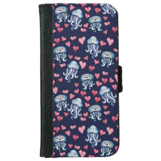Jellyfish Love iPhone 6 Wallet Case