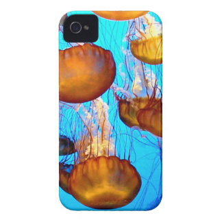 Jellyfish Madness Case-Mate iPhone 4 Cases