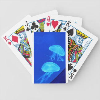 Jellyfish North Carolina Aquarium Bicycle Playing Cards