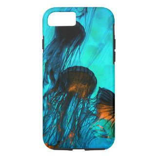 Jellyfish of the Under Sea Volcano iPhone 7 Case