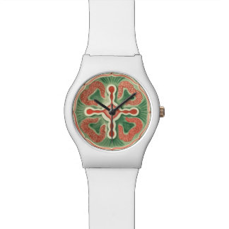 Jellyfish pattern wrist watch