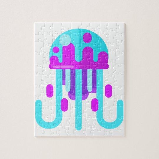 Jellyfish Primitive Style Jigsaw Puzzle