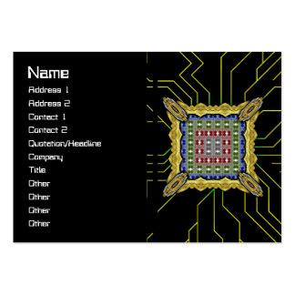 Jellyfish RGB Grid 2 Large Business Card