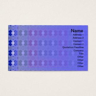 Jellyfish RGB Grid Business Card