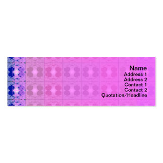 Jellyfish RGB Grid Pack Of Skinny Business Cards