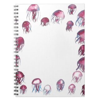 Jellyfish School Notebook