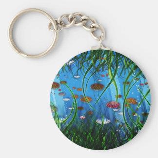 Jellyfish Swamp Keychain