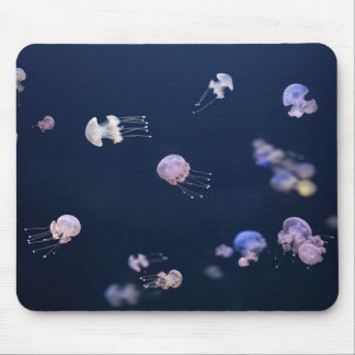 Jellyfish Swimming In The Ocean Mouse Pad