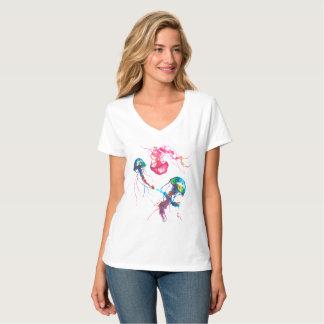 Jellyfish V-Neck Shirt