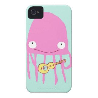 Jellyfish with ukelele Case-Mate iPhone 4 case
