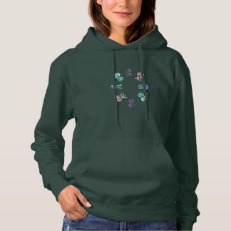 Jellyfish Women's Hooded Sweatshirt