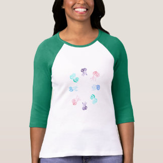Jellyfish Women's Raglan T-Shirt