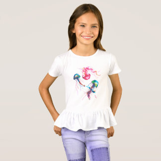 Jellyfishes Girls' Shirt