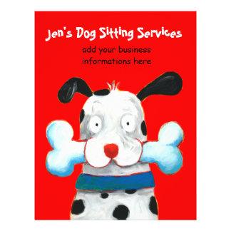 Jen s Dog Sitting Services flyer