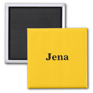 Jena magnet sign gold Gleb