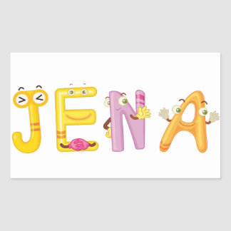 Jena Sticker