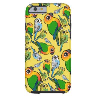 Jenday Conure & Budgie Pattern Phone Case