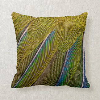 Jenday Conure Feather Design Throw Pillow