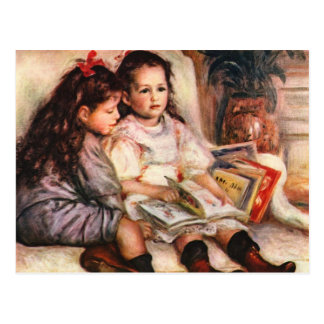 Jene and Genevive Caillebotte by Renoir Postcard