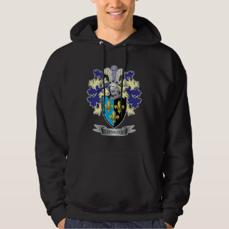 Jenkins Family Crest Coat of Arms Hoodie