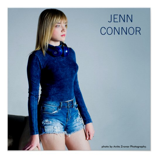 Jenn Connor Stand Up Poster