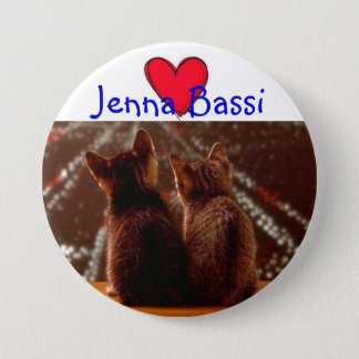 Jenna Bassi 3 Inch Round Button