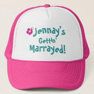 jennay flower, Jennay's, Gettin', Marrayed! Trucker Hat
