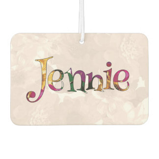 Jennie Colorful Fun Air Freshener: Cucumber-Mint Car Air Freshener