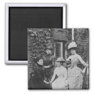 Jennie Jerome, later Lady Randolph Churchill Magnet