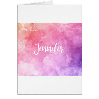 Jennifer Name Card