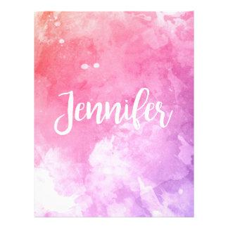 Jennifer Name Letterhead