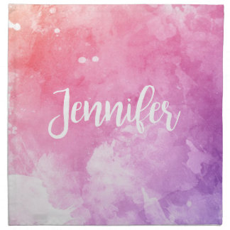 Jennifer Name Napkin