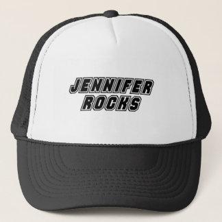 Jennifer Rocks Trucker Hat