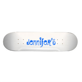 Jennifer s skate board
